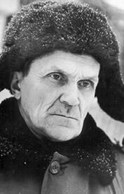 Varlam Shalamov. Russian writer. Gulag prisoner for over twenty years. Courtesy of the International Memorial Society.